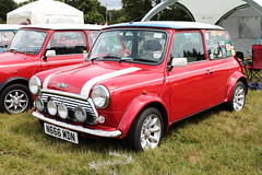 1998 Rover Mini Cooper N666MDN MCR National Mini Cooper Day Beaulieu 2019 (davidseall) Tags: 1998 rover mini cooper n666mdn mcr national day beaulieu 2019 register car red rally show n666 mdn classic old shape style original great british hampshire uk