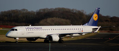 Embraer ERJ-190: 19000316 Lufthansa CityLine Newcastle Airport (emdjt42) Tags: lufthansaregional lufthansacityline lufthansa embraer erj190 daebb newcastleairport