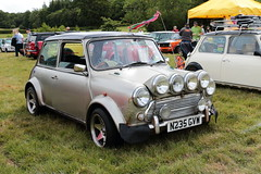 1996 Rover Mini Cooper N235GVW MCR National Mini Cooper Day Beaulieu 2019 (davidseall) Tags: 1996 mini rover cooper show old classic car silver day rally national register shape beaulieu mcr 2019 gvw n235 n235gvw uk original great style hampshire british