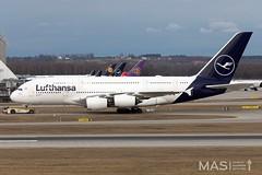 Lufthansa A380-800 D-AIMC @ MUC (MASAviation) Tags: aviation avgeek spotter munichairport muc mucmoments mucmovements airbus boeing lufthansa a380 explorethenew lufthansablue daimc