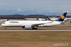 Lufthansa A350-900 D-AIXC @ MUC (MASAviation) Tags: aviation avgeek spotter munichairport muc mucmoments mucmovements airbus boeing lufthansa a350 a350xwb daixc