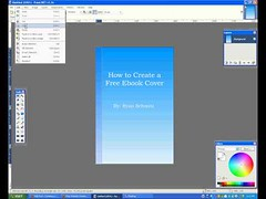 How to Create an Ebook Cover for Free (tubebular) Tags: build cover create design ebook free make