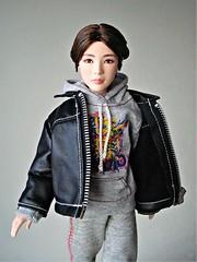 Suga (Deejay Bafaroy) Tags: bts suga mattel doll puppe male homme portrait porträt redressed barbie asian