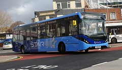 First Hampshire and Dorset 67267 (YX69 NPY) Portsmouth Harbour 17/2/20 (jmupton2000) Tags: first solent uk bus hampshire dorset the star alexander dennis enviro 200 mmc yx69npy