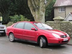 Citroen C5 VTR (Andrew 2.8i) Tags: carspotting spotting street car cars streetspotting united kingdom wales classic classics hatch hatchback french diesel vtr c5 citroen