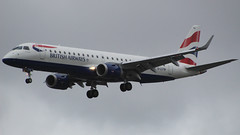 British Airways Embraer E190SR G-LCYW (TOA Planespotting) Tags: embraer e190sr glcyw britishairways avgeek lcy