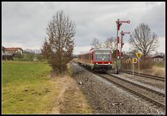 DB 628 586, Fridolfing (J. Bakker) Tags: db deutsche bahn br628 628 928 586 rb 27981 mühldorf salzburg hbf fridolfing götzing 2020 duitsland