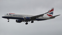 British Airways Embraer E190SR G-LCYO (TOA Planespotting) Tags: britishairways embraer e190sr glcyo avgeek lcy