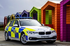 SY68 BXZ (S11 AUN) Tags: durham constabulary bmw 330d 3series xdrive touring anpr police traffic car rpu roads policing unit 999 emergency vehicle sy68bxz