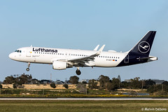 Lufthansa Airbus A320-214  |  D-AIZY  |  LMML (Melvin Debono) Tags: lufthansa airbus a320214 | daizy lmml 5769 melvin debono spotting spotters spotter canon eos 5d mark iv 100400mm plane planes photography airport airplane aircraft aviation malta mla