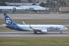 N583AS (LAXSPOTTER97) Tags: alaska airlines boeing 737 n583as 737800 cn 35681 ln 2333 airport airplane aviation kpdx