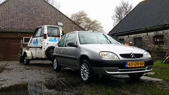 Canta LX / Citroën Saxo 1.1i Asics (Skylark92) Tags: nederland netherlands holland noordholland northholland amsterdam canta lx trailer transport citroën saxo 11i asics 40gnnp 2001 onk