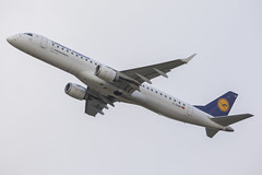Lufthansa Regional Embraer E195 D-AEBB (Rob390029) Tags: lufthansa regional embraer e195 daebb newcastle airport ncl egnt