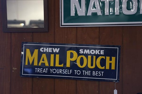 Chew Smoke Mail Pouch Sign ($67.20)