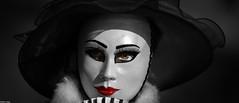 Red Kiss (Edwin Lukas) Tags: rot colorkey masken venedig schwäbischhall karnevall umzug s1r lumix