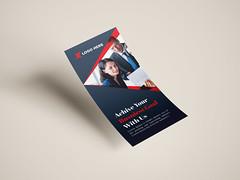 DL Flyer/Rack Card Design (mdshorif75) Tags: mockups psd template free photoshop