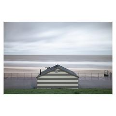 Beach Hut (John Pettigrew) Tags: hut d750 nikon storm long nd30 mundane documentary beach imanoot banal exposure topographics ordinary ciara filter tamron seascape johnpettigrew seaside