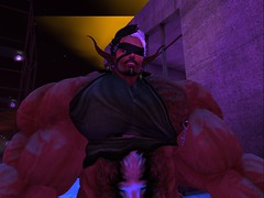 Been Here Before II (Hunky Skunky) Tags: skelf secondlife second life blind muscle manly exhausted wornout veins devmuscle hairy beefy torn clash fallout confrontation profile