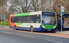 Stagecoach South 27875 (GX13 AOV) Portsmouth 17/2/20 (jmupton2000) Tags: gx13aov alexander dennis enviro 300 stagecoach south uk bus southdown coastline
