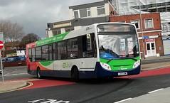 Stagecoach South 27867 (GX13 AOM) Portsmouth 17/2/20 (jmupton2000) Tags: gx13aom alexander dennis enviro 300 stagecoach south uk bus southdown coastline