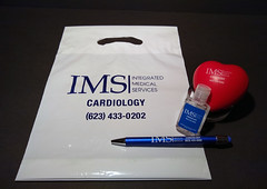 Medical Company Event Items (Sir Speedy Glendale AZ) Tags: medical company event items imprinted pens personalized hand sanitizer stress ball heart custom bag adspecialty logo cardiology