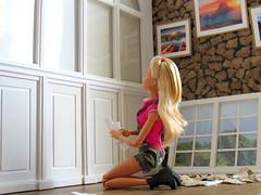 Window Wall (back2s0ul) Tags: barbie doll millie camping fun fashionista greenhouse madetomove