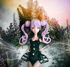 Rainbow skies above (pure_embers) Tags: pure embers laura england resin bjd doll dolls delicacy uk girl pureembers embersastra astra photography photo ball joint lilac silicone hair anime portrait rainbow