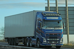 Volvo FH PG16 JXO (SR Photos Torksey) Tags: transport truck haulage hgv lorry lgv logistics road commercial vehicle freight traffic volvo fh