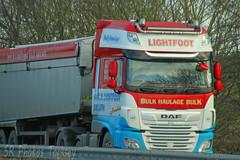DAF XF Bulk Tipper Lightfoot (SR Photos Torksey) Tags: transport truck haulage hgv lorry lgv logistics road commercial vehicle freight traffic daf xf tipper lightfoot