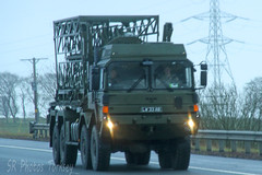 Military MAN LW 33 AB (SR Photos Torksey) Tags: transport truck haulage hgv lorry lgv logistics road commercial vehicle freight traffic man military army