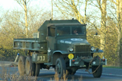 Vintage Army Lorry (SR Photos Torksey) Tags: transport truck haulage hgv lorry lgv logistics road commercial vehicle freight traffic military army