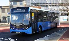 First Hampshire and Dorset 67273 (YX69 NSJ) Portsmouth Harbour 17/2/20 (jmupton2000) Tags: first solent uk bus hampshire dorset the star alexander dennis enviro 200 mmc yx69nsj