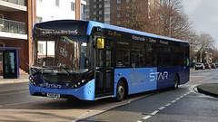 First Hampshire and Dorset 67265 (YX69 NPU) Portsmouth 17/2/20 (jmupton2000) Tags: first solent uk bus hampshire dorset the star alexander dennis enviro 200 mmc yx69npu