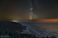 Cape Perpetua Milky Way (Hilary Bralove) Tags: milkyway oregon nightphotography oregoncoast nikon nature pacificnorthwest astrophotography