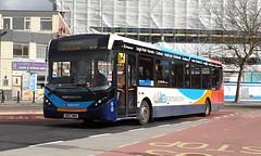 Stagecoach South 26156 (SN67 WWA) Portsmouth 17/2/20 (jmupton2000) Tags: sn67wwa alexander dennis enviro 200 mmc stagecoach south uk bus southdown coastline