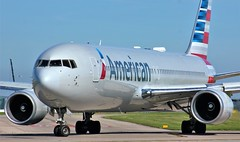 N388AA (AnDyMHoLdEn) Tags: americanairlines 767 oneworld egcc airport manchester manchesterairport 23l