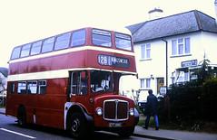 Slide 148-59 (Steve Guess) Tags: byfleet surrey england gb uk oysterlane a318 bus cct518c devon general aec regent v