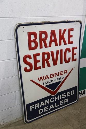 Brake Service Sign ($235.20)