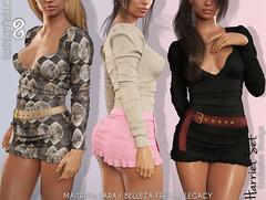 Harriet set (FashionNatic) Tags: fashionnatic treschic fn maitreya belleza legacy skirt top secondlife secondlifeavatar secondlifefashion