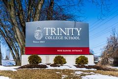 TCS sign (chris e robert) Tags: sign sony tcs sonyphoto trinitycollegeschool sonya7iii