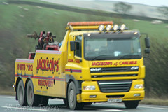 DAF CF Jacksons of Carlisle Recovery (SR Photos Torksey) Tags: transport truck haulage hgv lorry lgv logistics road commercial vehicle freight traffic daf cf recovery jacksons carlisle