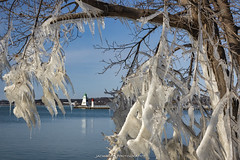 Port Dover Ontario 2020 (John Hoadley) Tags: lighthouse harbourbeacon portdover ontario 2020 february canon eosr 24105 f13 iso640 ice lakeerie