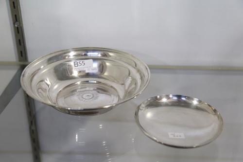 Set of (2) Sterling Bowls ($156.80)