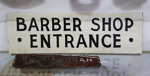Barber Shop Sign ($30.80)