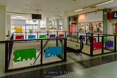 Elephant and Castle Shopping Centre (James D Evans - Architectural Photographer) Tags: architectural architecturalphotography architecture building buildings builtenvironment constructed constructions structure thebuiltenvironment urban elephantandcastle elephantandcastleshoppingcentre london