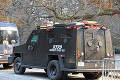 Picture Of 2004 Lenco Bear Cat ESU – NYPD Car #7001-04 Armored Vehicle Assigned To The Emergency Services Unit. Picture Taken In Manhattan. Photo Taken Wednesday November 27, 2019 (ses7) Tags: city of new york police department esu