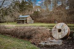 Cook's Mill Cabin (Bob G. Bell) Tags: logcabin cabin milwheel mill gristmill greenville wv monroe bobbell nikon d750