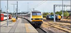 Norwich (R~P~M) Tags: train railway coach carriage dvt greateranglia abellio drs directrailservices locomotive 37 norwich norfolk england uk unitedkingdom greatbritain