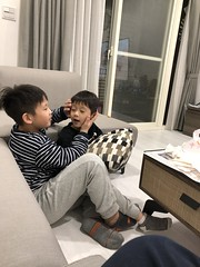 2020.1.28 初四 (amydon531) Tags: baby boys kids brothers justin jarvis family cute