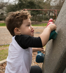 Luke Climbing (Moon Man Mike) Tags: 2020 70200mm canon5d charlotte austin brian february jenna lauren luke mike park playground swings